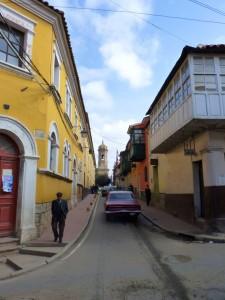 Extension Villes coloniales– Une rue bariolée de Potosi