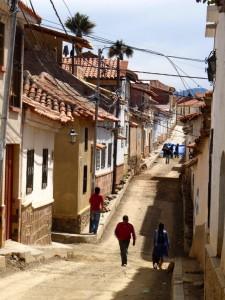 Extension Villes coloniales– Un quartier populaire de Sucre