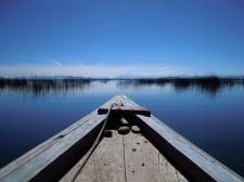 Navigation en barque sur le lac Titicaca