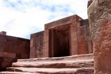 Porte du temple Kalasasaya à Tiwanaku