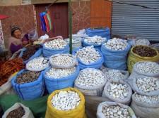 Un marché à La Paz