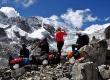 Extension Montagne– Pause en chemin pour le camp avancé