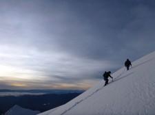 Extension Montagne– Montée dans la neige