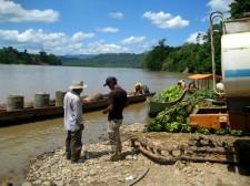 Extension Rafting– Sur la rive d'un affluent de l'Amazone
