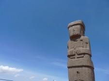 Statue à Tiwanaku