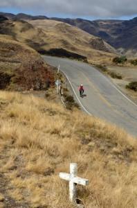 Descente dans la vallée de Sorata