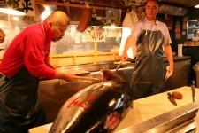 Le marché aux poissons de Tsukuji