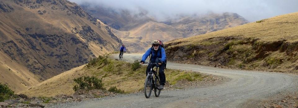 Bolivie – Du bleu au vert en VTT