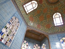 Intérieur d'un pavillon du palais de Topkapı