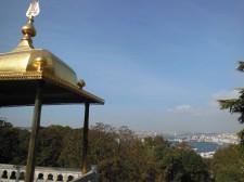 Vue sur le Bosphore depuis le Palais de Topkapı