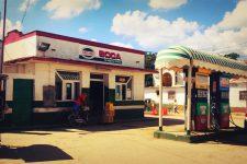 Station-service sur la route de Viñales