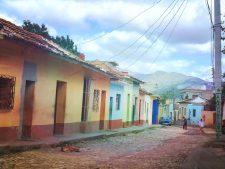 Rue colorée à Trinidad