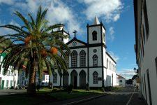 L'église de Lajes