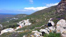 Une vue typique de Tinos d'où se dégage un parfum d'harmonie