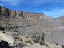 Le grand canyon d'Oman