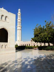L'esplanade de la Grande Mosquée