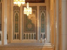 La Grande Mosquée du Sultan Quabus à Mascate