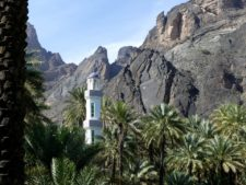 Mosquée dans un wadi