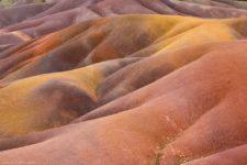 Les terres colorées de Chamarel à Maurice
