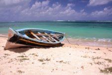 Une plage sur le lagon de Rodrigues