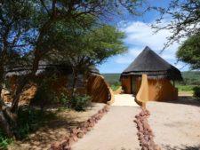 Lodge immersive dans la réserve d'Okonjima